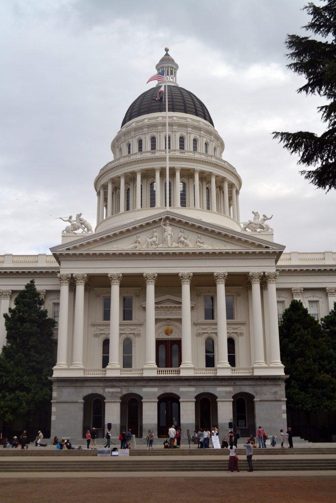 Das California State Capitol in Sacramento.